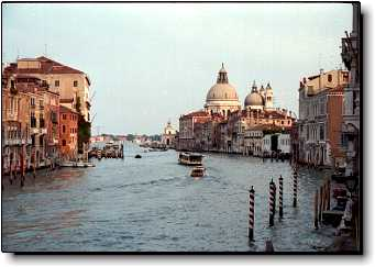 Venice photo gallery Accademia Bridge Santa Maria della Salute Grand Canal